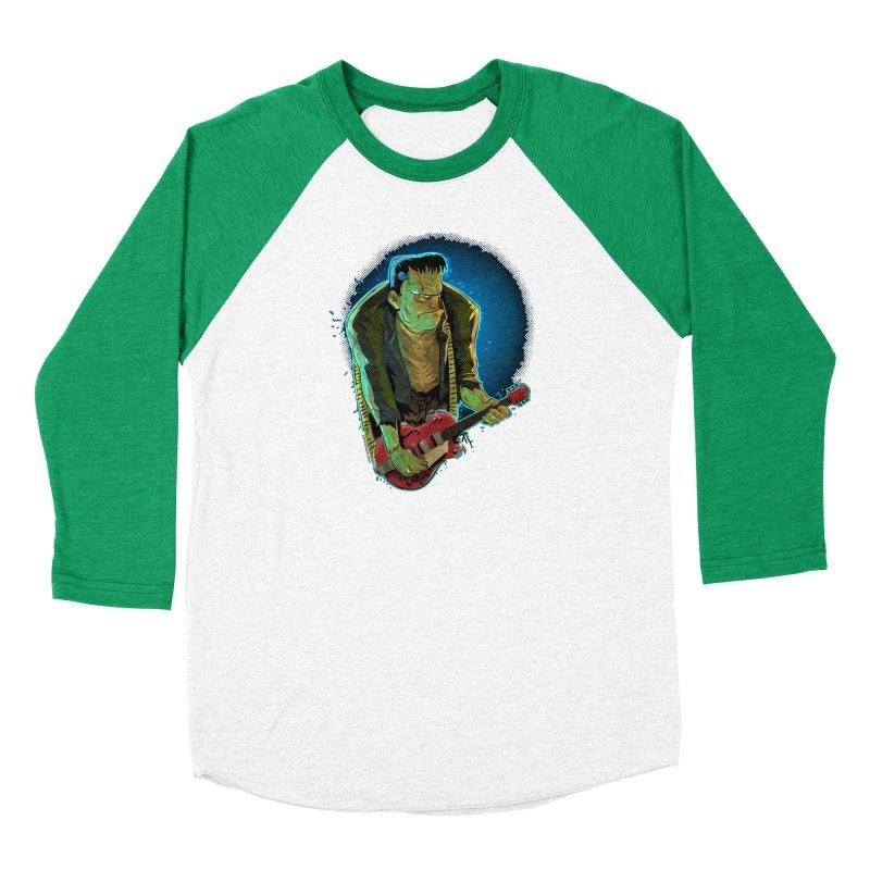 Riffenstein Women's Baseball Triblend Longsleeve T-Shirt by Zerostreet's Artist Shop