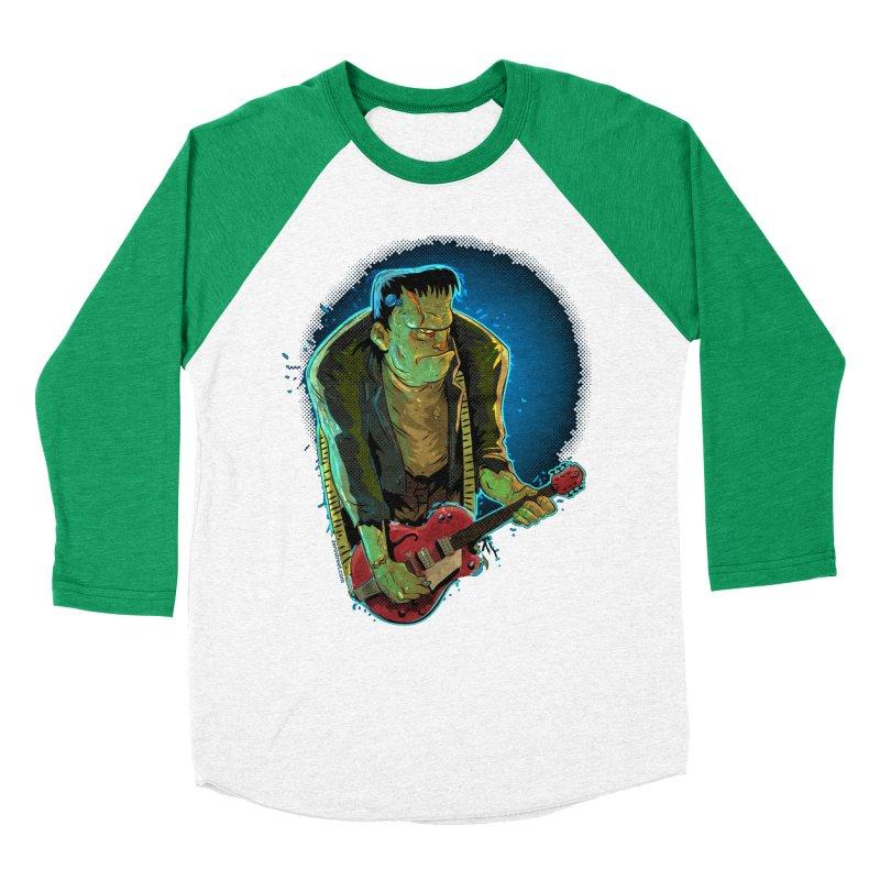 Riffenstein Men's Baseball Triblend Longsleeve T-Shirt by Zerostreet's Artist Shop