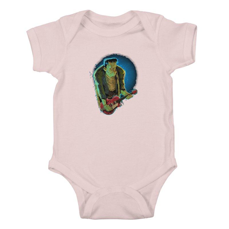 Riffenstein Kids Baby Bodysuit by Zero Street's Artist Shop