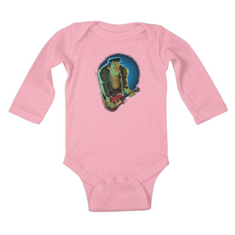 Riffenstein Kids Baby Longsleeve Bodysuit by Zerostreet's Artist Shop