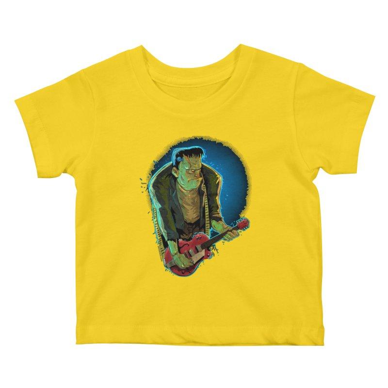 Riffenstein Kids Baby T-Shirt by Zerostreet's Artist Shop