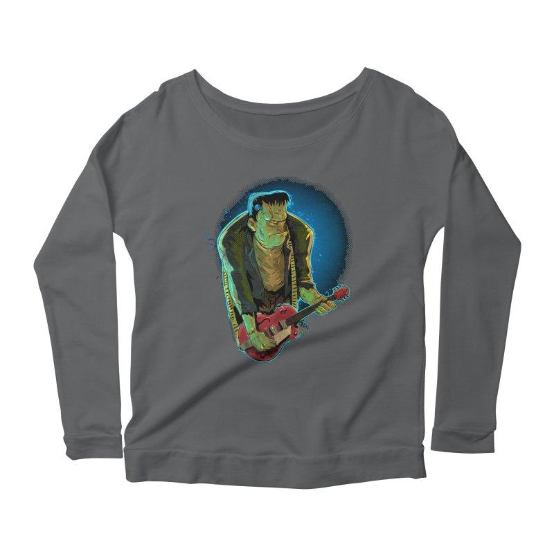 Riffenstein Women's Scoop Neck Longsleeve T-Shirt by Zero Street's Artist Shop