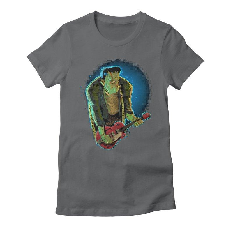 Riffenstein Women's Fitted T-Shirt by Zerostreet's Artist Shop