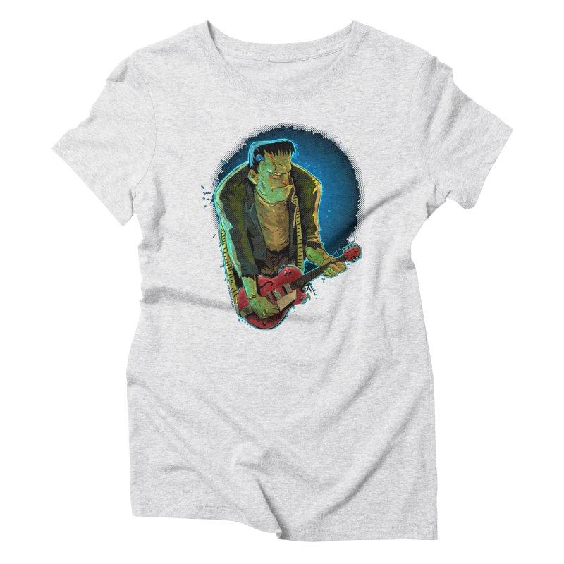 Riffenstein Women's Triblend T-Shirt by Zerostreet's Artist Shop