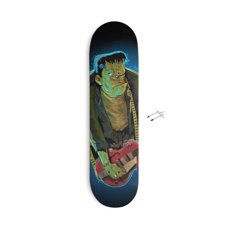 Riffenstein Accessories With Hanging Hardware Skateboard by Zerostreet's Artist Shop