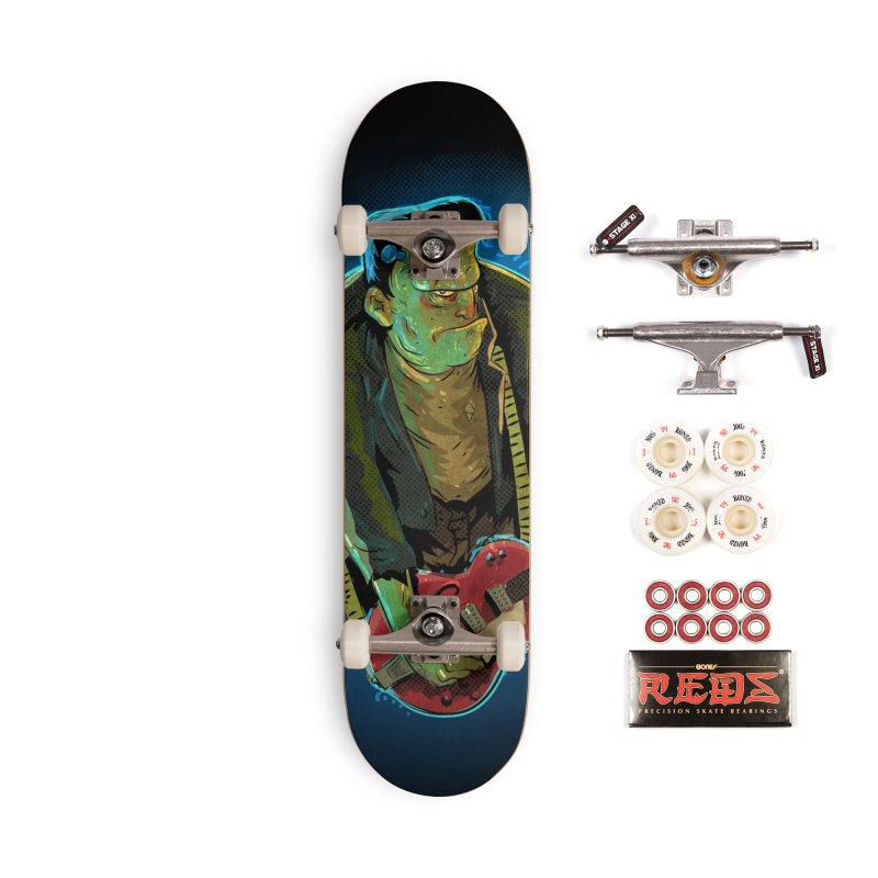 Riffenstein Accessories Complete - Pro Skateboard by Zero Street's Artist Shop