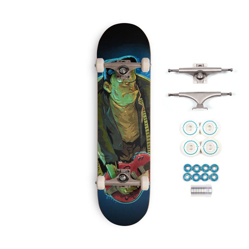 Riffenstein Accessories Complete - Basic Skateboard by Zerostreet's Artist Shop