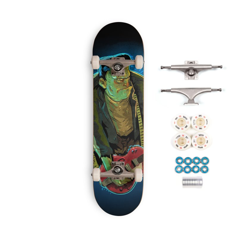 Riffenstein Accessories Complete - Premium Skateboard by Zerostreet's Artist Shop