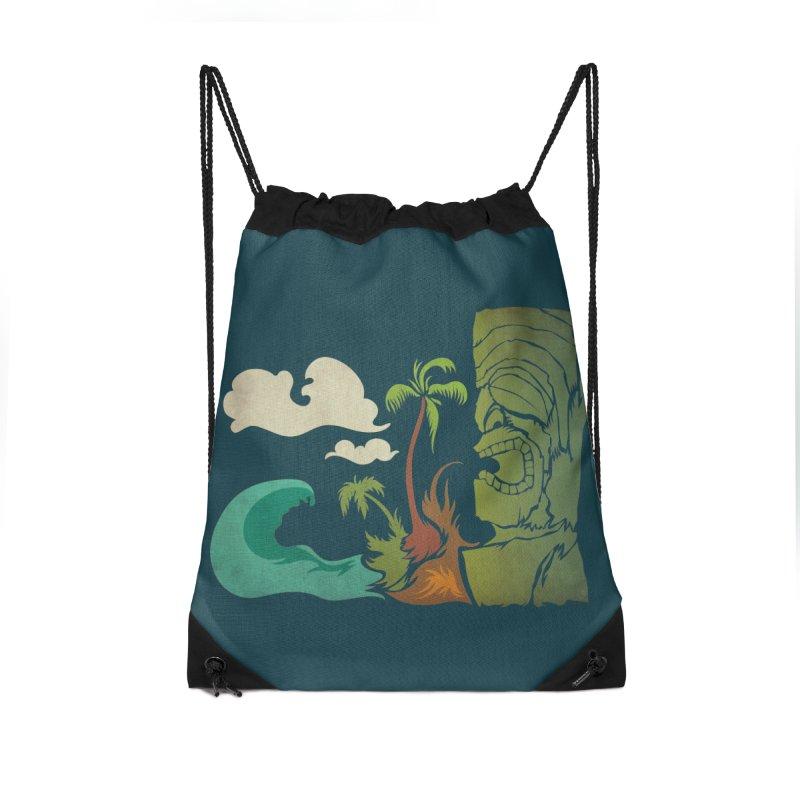 Surf Ku Accessories Drawstring Bag Bag by Zerostreet's Artist Shop
