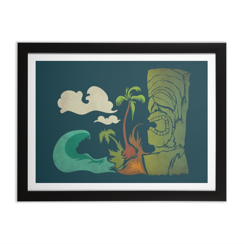 Surf Ku Home Framed Fine Art Print by Zerostreet's Artist Shop