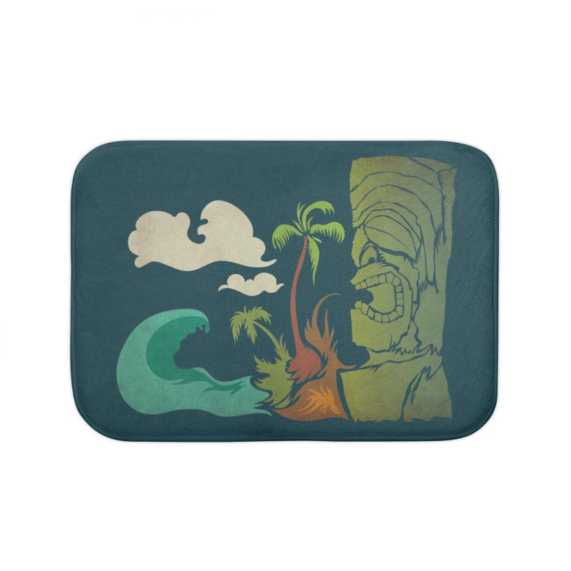 Surf Ku Home Bath Mat by Zerostreet's Artist Shop