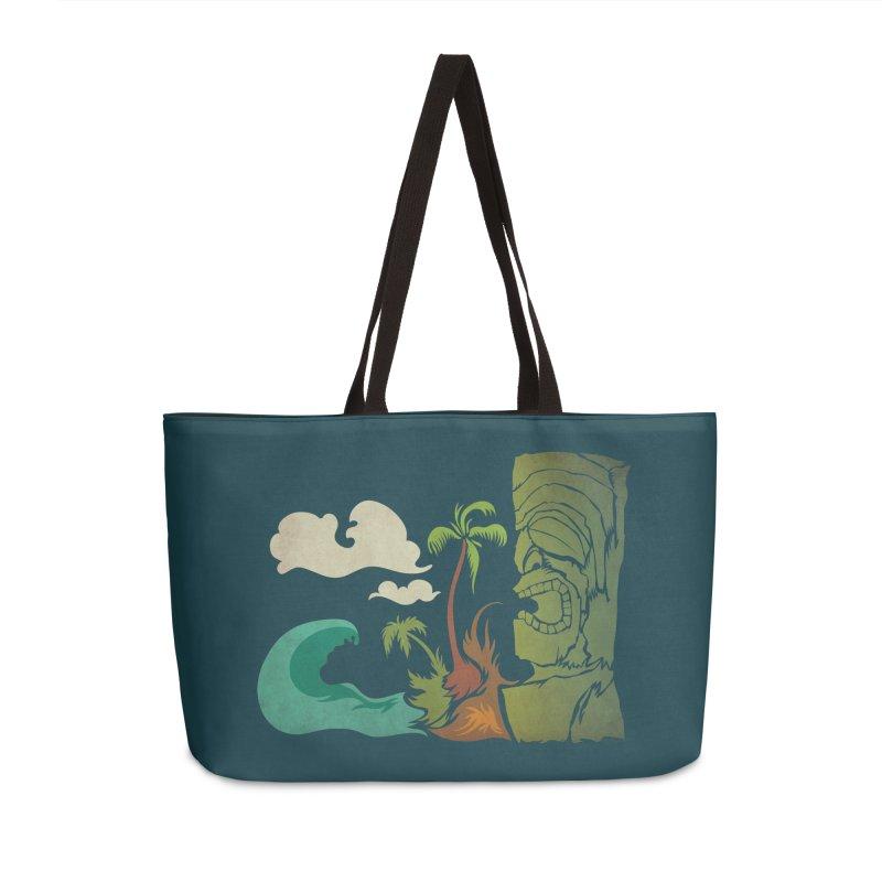 Surf Ku Accessories Weekender Bag Bag by Zerostreet's Artist Shop