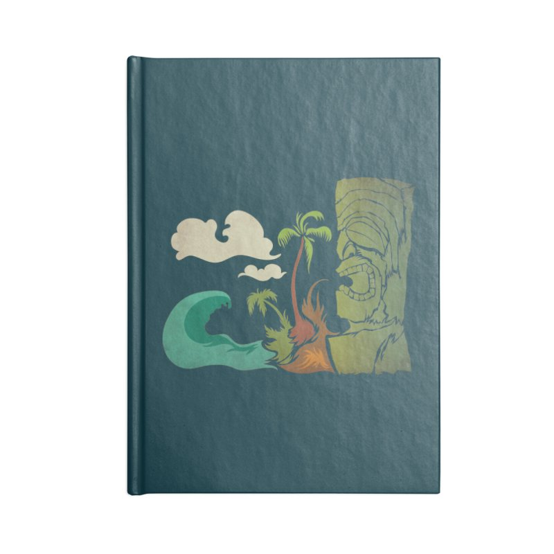 Surf Ku Accessories Lined Journal Notebook by Zerostreet's Artist Shop