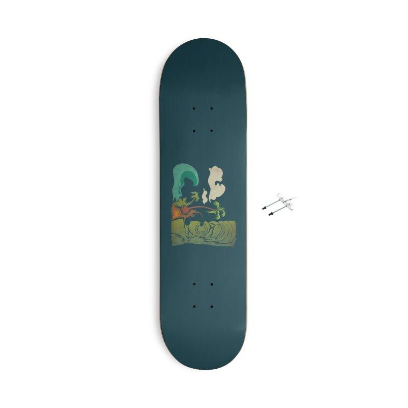 Surf Ku Accessories With Hanging Hardware Skateboard by Zerostreet's Artist Shop