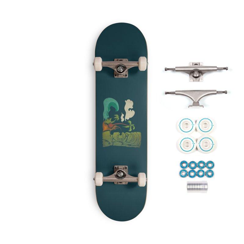 Surf Ku Accessories Complete - Basic Skateboard by Zerostreet's Artist Shop