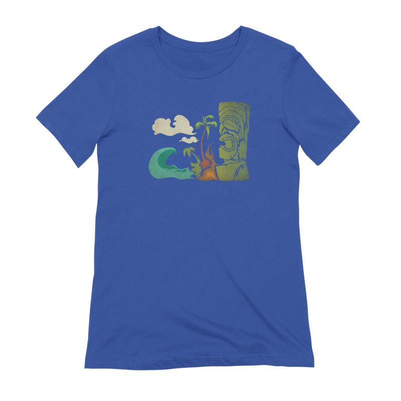 Surf Ku Women's Extra Soft T-Shirt by Zerostreet's Artist Shop