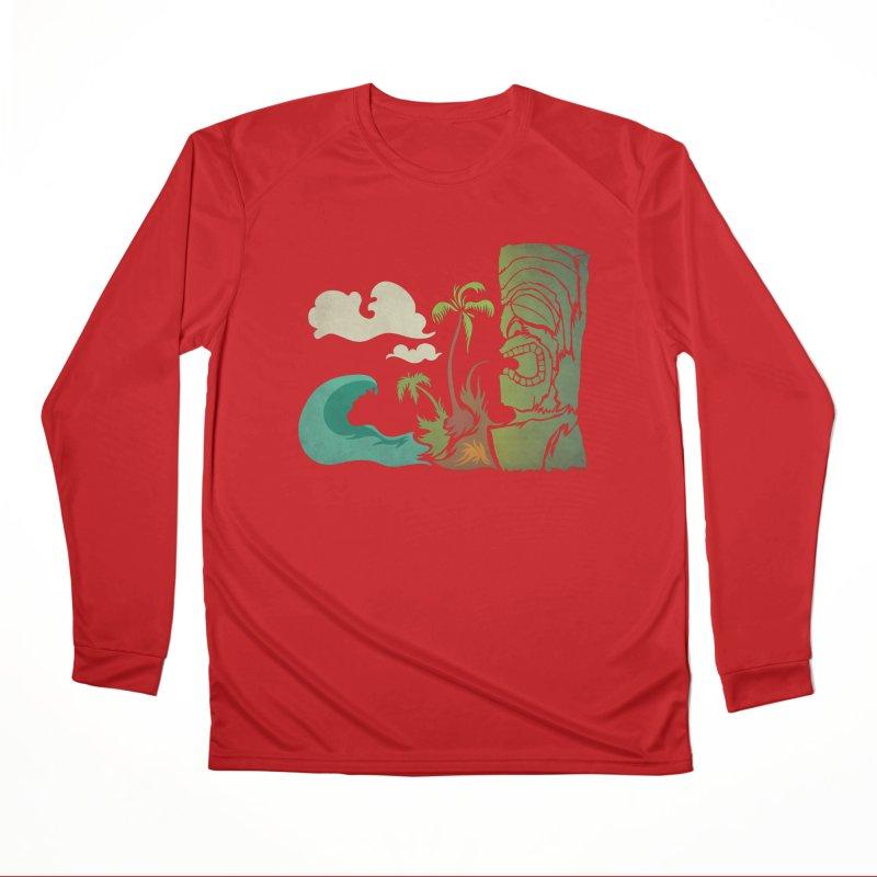 Surf Ku Men's Performance Longsleeve T-Shirt by Zerostreet's Artist Shop
