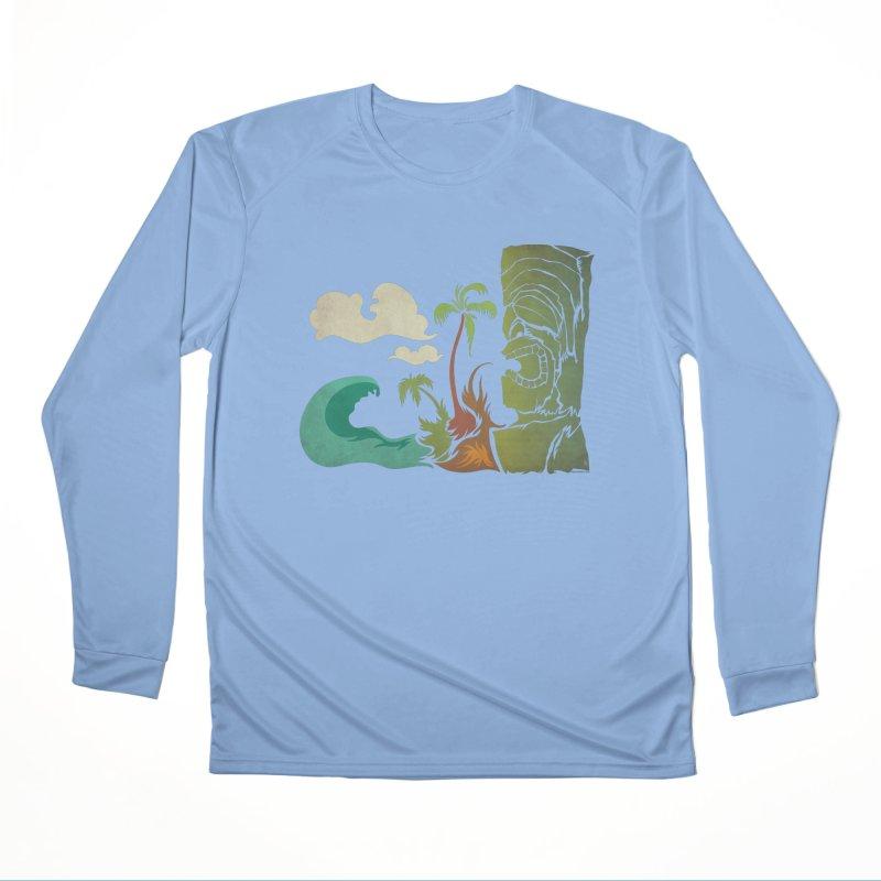 Surf Ku Women's Performance Unisex Longsleeve T-Shirt by Zerostreet's Artist Shop