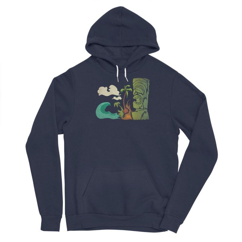 Surf Ku Men's Sponge Fleece Pullover Hoody by Zerostreet's Artist Shop