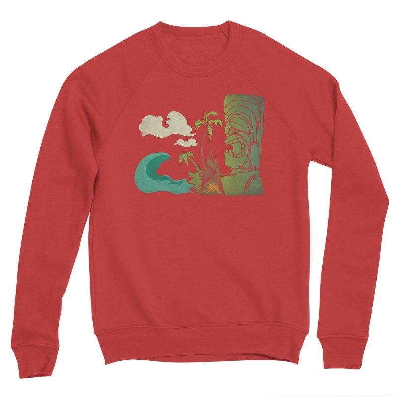 Surf Ku Women's Sponge Fleece Sweatshirt by Zerostreet's Artist Shop