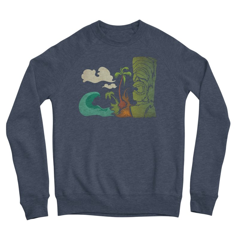 Surf Ku Women's Sponge Fleece Sweatshirt by Zerostreet's Artist Shop