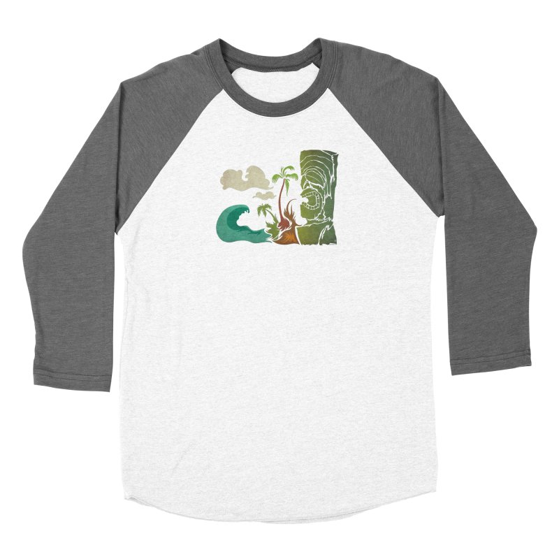 Surf Ku Women's Baseball Triblend Longsleeve T-Shirt by Zerostreet's Artist Shop