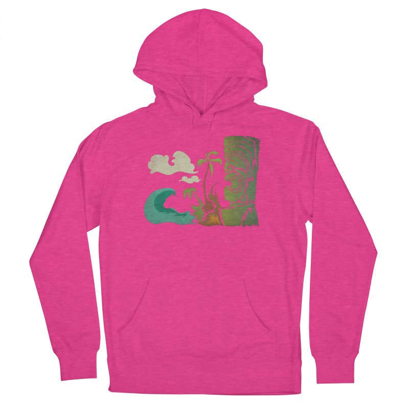Surf Ku Men's French Terry Pullover Hoody by Zerostreet's Artist Shop