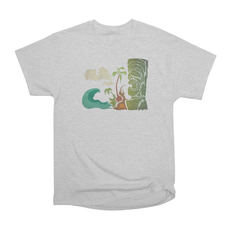 Surf Ku Men's Heavyweight T-Shirt by Zerostreet's Artist Shop