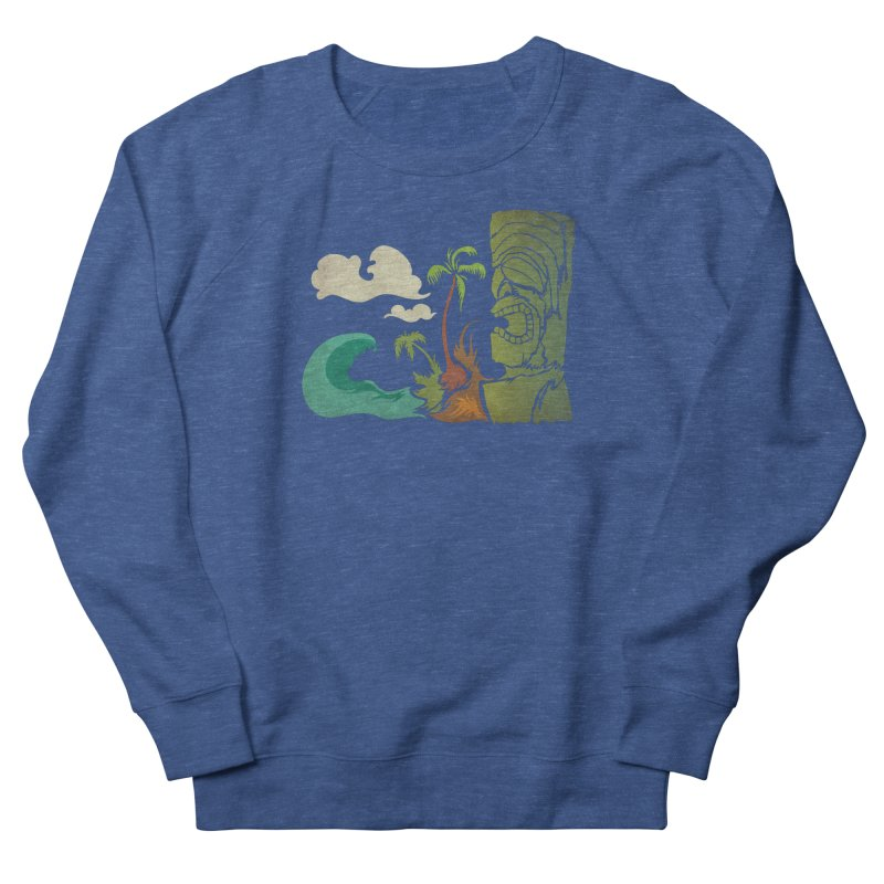 Surf Ku Men's French Terry Sweatshirt by Zerostreet's Artist Shop