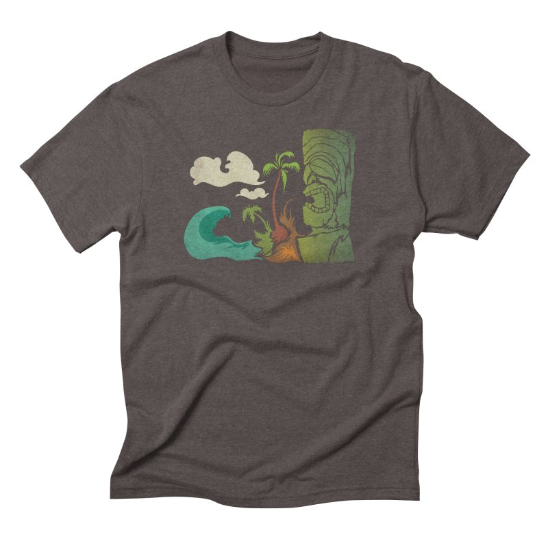 Surf Ku Men's Triblend T-Shirt by Zerostreet's Artist Shop