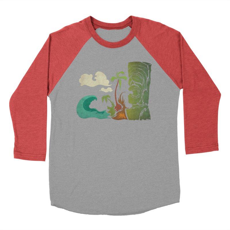 Surf Ku Men's Baseball Triblend Longsleeve T-Shirt by Zerostreet's Artist Shop