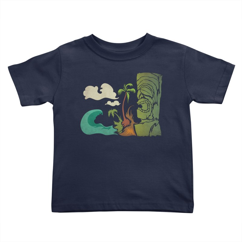 Surf Ku Kids Toddler T-Shirt by Zerostreet's Artist Shop