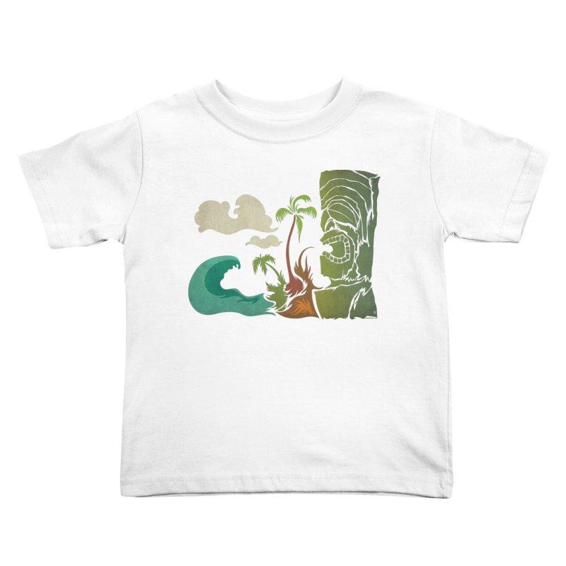 Surf Ku Kids Toddler T-Shirt by Zerostreet's Artist Shop