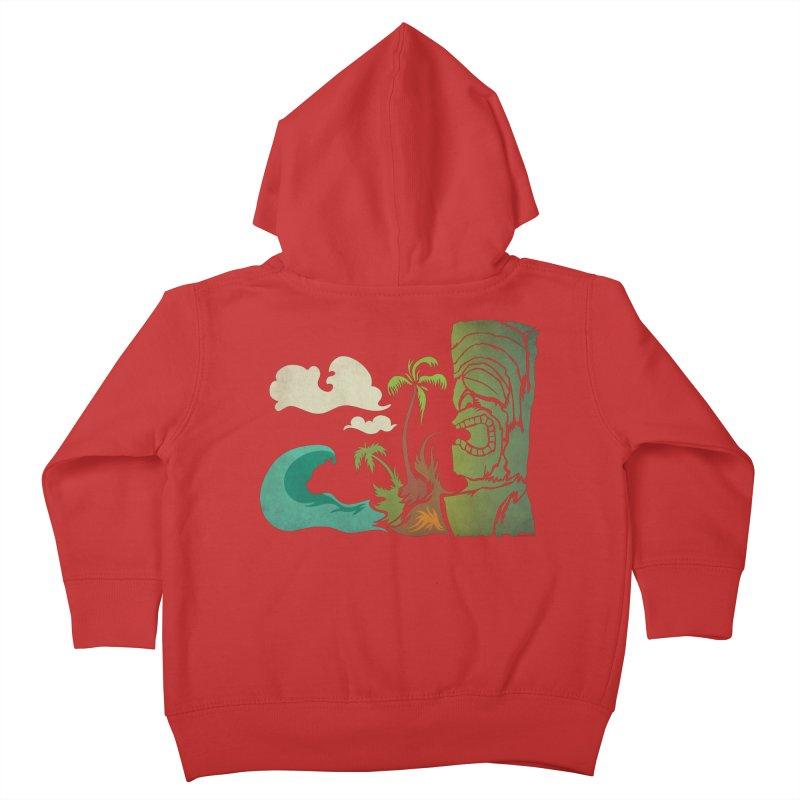 Surf Ku Kids Toddler Zip-Up Hoody by Zerostreet's Artist Shop