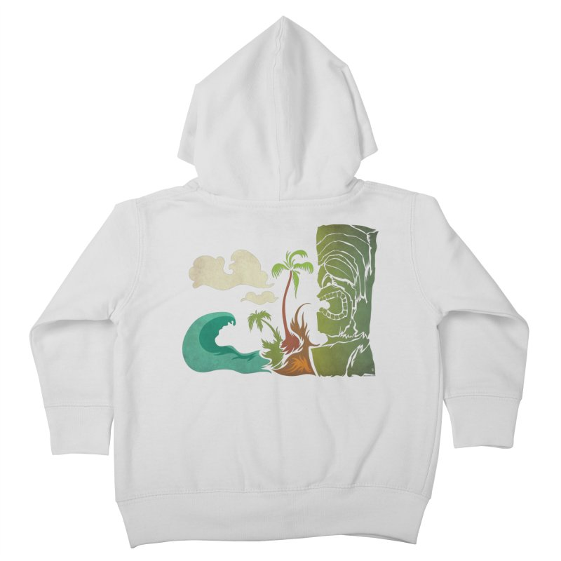 Surf Ku Kids Toddler Zip-Up Hoody by Zerostreet's Artist Shop