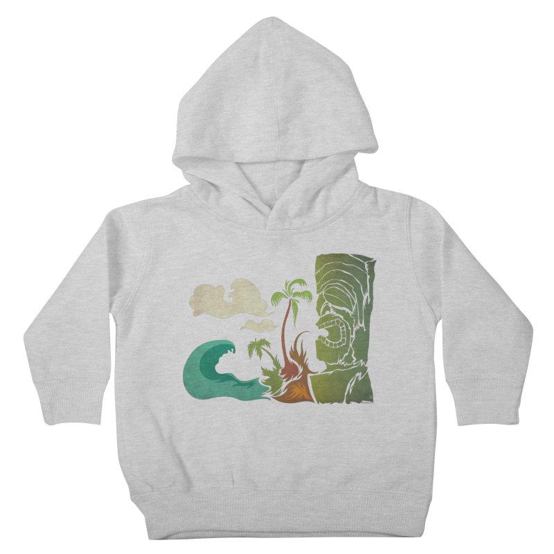 Surf Ku Kids Toddler Pullover Hoody by Zerostreet's Artist Shop
