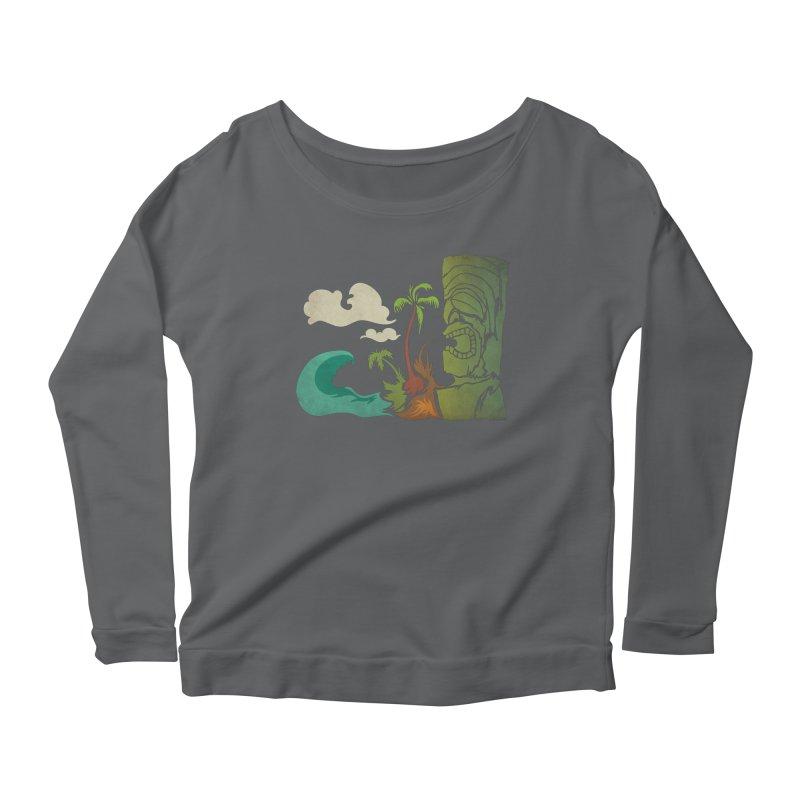 Surf Ku Women's Scoop Neck Longsleeve T-Shirt by Zerostreet's Artist Shop