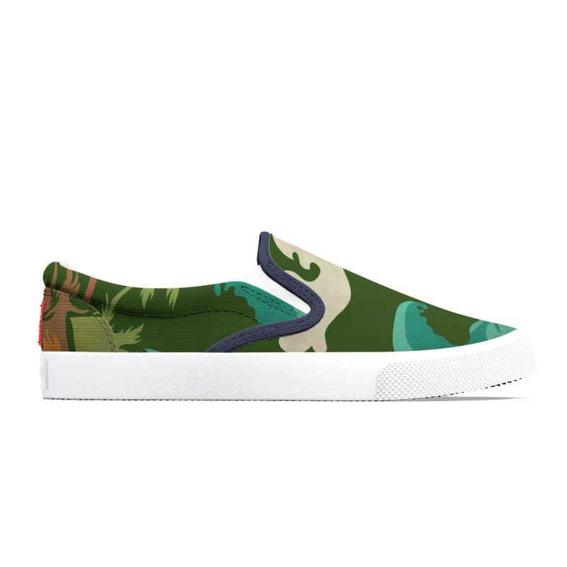 Surf Ku Men's Shoes by Zerostreet's Artist Shop