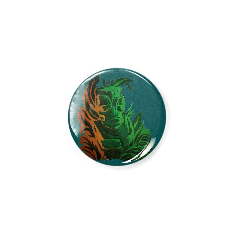 Tiki Moon Accessories Button by Zerostreet's Artist Shop