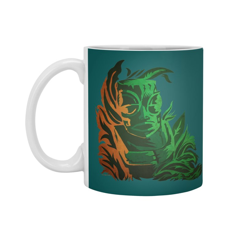 Tiki Moon Accessories Standard Mug by Zerostreet's Artist Shop