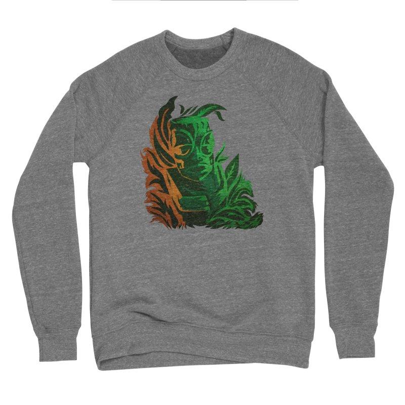 Tiki Moon Men's Sponge Fleece Sweatshirt by Zerostreet's Artist Shop