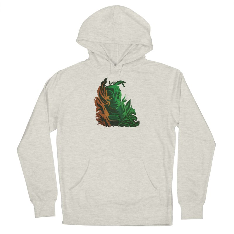 Tiki Moon Men's French Terry Pullover Hoody by Zerostreet's Artist Shop