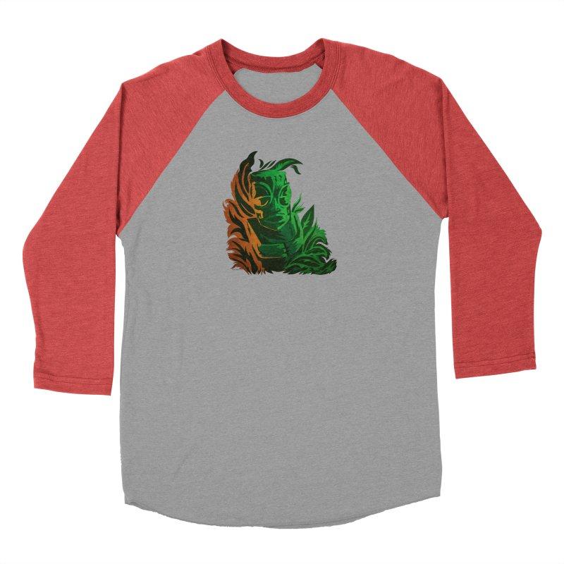 Tiki Moon Women's Baseball Triblend Longsleeve T-Shirt by Zerostreet's Artist Shop