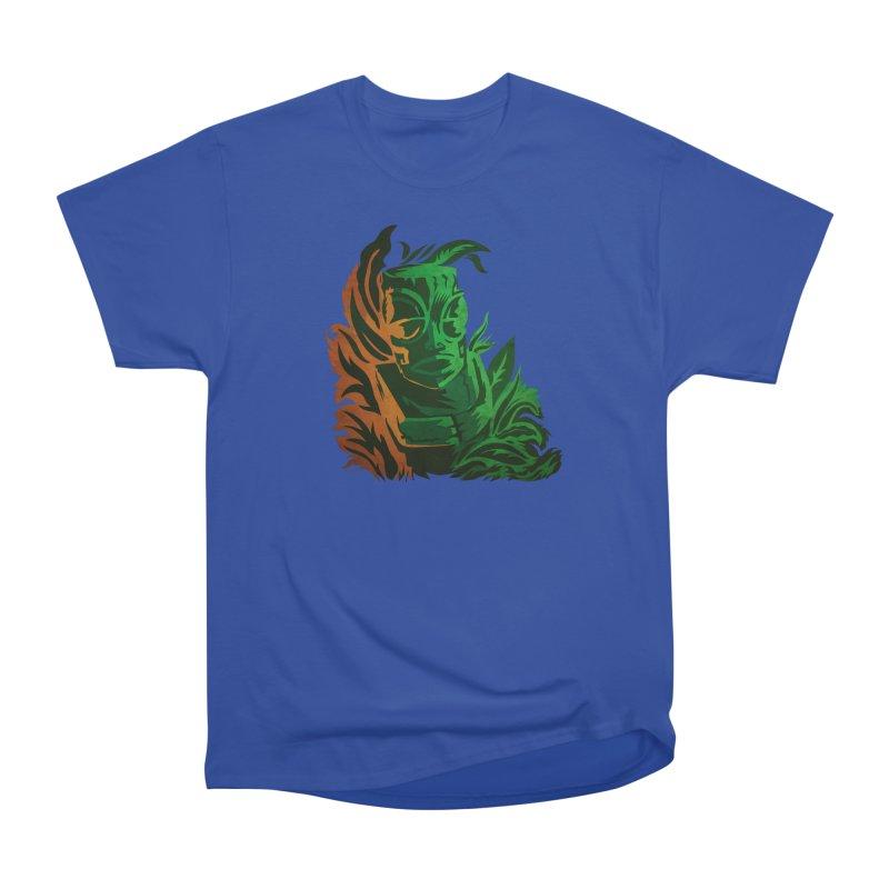 Tiki Moon Women's Heavyweight Unisex T-Shirt by Zerostreet's Artist Shop