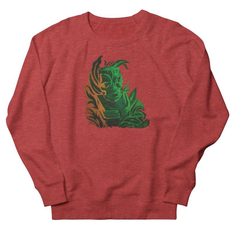 Tiki Moon Women's French Terry Sweatshirt by Zerostreet's Artist Shop