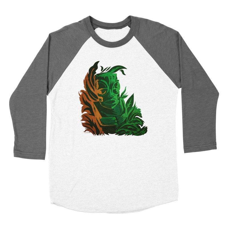 Tiki Moon Men's Baseball Triblend Longsleeve T-Shirt by Zerostreet's Artist Shop
