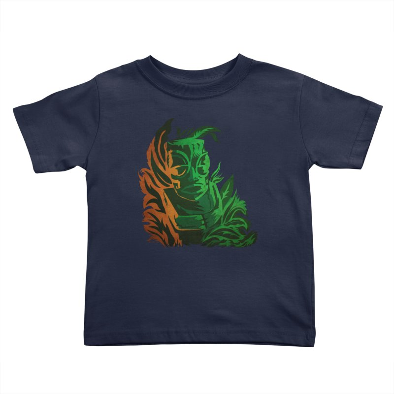 Tiki Moon Kids Toddler T-Shirt by Zerostreet's Artist Shop