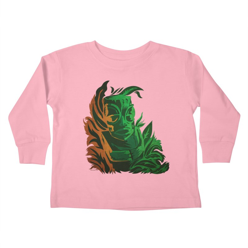Tiki Moon Kids Toddler Longsleeve T-Shirt by Zerostreet's Artist Shop