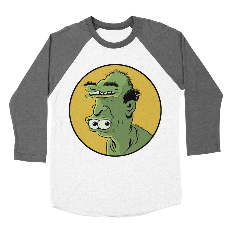Weirdo Women's Baseball Triblend T-Shirt by Zerostreet's Artist Shop