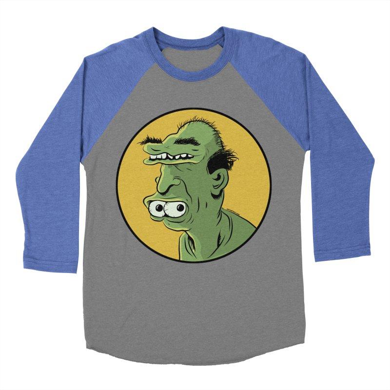 Weirdo Men's Baseball Triblend T-Shirt by Zerostreet's Artist Shop